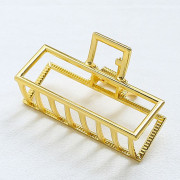 SOHO® Small Square Metall Haarklemme - Gold