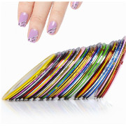 Striping Tape / Nagel Design Tape / Nail Stripes - 10 Stck.