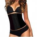 AVA® Waist Trainer Latex  - Schwarz