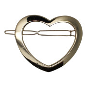 SOHO® Heart Metal Hair Clip, Haarspange - Gold