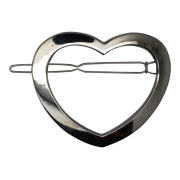 SOHO® Heart Metal Hair Clip - Silber