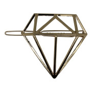 SOHO® 3D Diamond Hair Clip, Haarspange - Gold