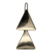 SOHO® Triangles Metal Hair Clip, Haarspange - Gold