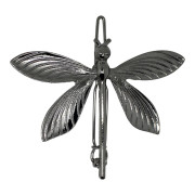 SOHO® Butterfly Metal Hair Clip, Haarspange - Silber