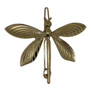 SOHO® Butterfly Metal Hair Clip, Haarspange -Gold