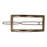 SOHO® Frame Metal Hair Clip, Haarspange - Gold