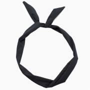 Flexi Headband with wire - Black