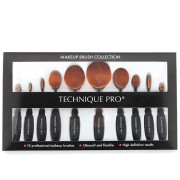 Technique PRO® Ovale Makeup Pinsel, 10-teiliges Set