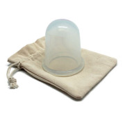 UNIQ® Cupping Massage Suction XL, Anti Cellulite - Clear