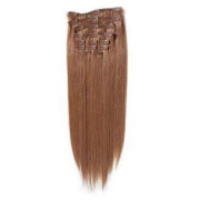 Clip In Extensions 65 cm #30 Rotbraun