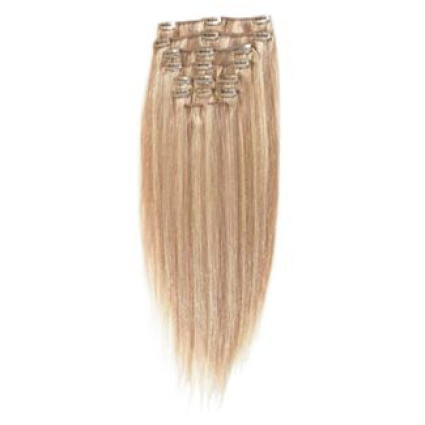 Clip In Extensions 40 cm #18/613 Blond Mix