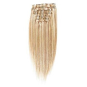 Clip In Extensions 65 cm #27/613 Hellblond Mix